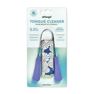 DR TUNGS Stainless Steel Tongue Cleaner (Colour May Vary)