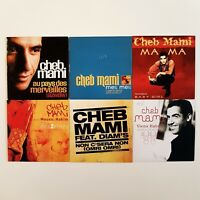CHEB MAMI ♦ Lot 6 x CD Single ♦ inc. MELI MELI, AU PAYS DES MERVEILLES,...