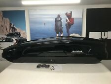 HALFORDS EXODUS 360L BLACK GLOSS ROOF BOX (MADE BY THULE)