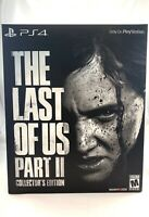 The Last of Us Part 2 II Collector's Edition Playstation 4 PS4 Factory Sealed