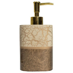 Parker Bath Accessory Collection Poly Resin Bathroom Lotion/Soap Dispenser