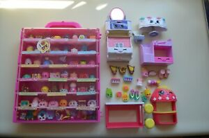 Shopkins Lot (80+) with mixed selections plus accessories PLUS CASE!
