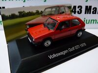VW2E voiture 1/43 IXO Volkswagen collection : GOLF GTi 1978