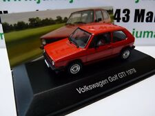 VW2H voiture 1/43 IXO Volkswagen collection : GOLF GTi 1978