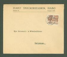 J Cover R43 Sweden 1941 Habo Carpentry factory