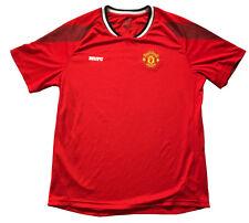 Manchester United Football Jersey Mens Red T Shirt Sz.L