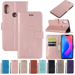 Fr Xiaomi Mi A2 Lite A1 Redmi Note 7 6 Pro Leather Stand Wallet Phone Case Cover