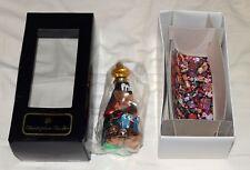 Disney / Christopher Radko Goofy Christmas Ornament w/ Original Box