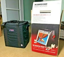 Slide Viewer by The Sharper Image - in original box w/ accessories