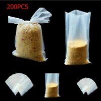 200PCS PVA Water Fast Soluble Bag Fishing Carp Bait Dissolving Bag Tackle Tool