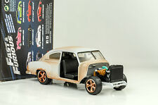 Dom's Chevrolet Fleetline Fast and & Furious 8 matt siber 1:24 Jada