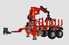 Forst Trailer 5000 Bulding Instruction/Bauanleitung LEGO® Technic