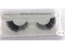 Siberian 100% Mink False Eyelashes High Quality Luxury 3D Mink Lashes A14