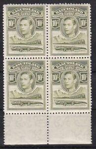 Basutoland 28 4er-Block postfr./mnh George VI 1938