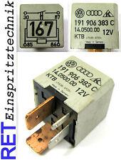 Relais NR 167 191906383 C pompe à carburant vw/audi