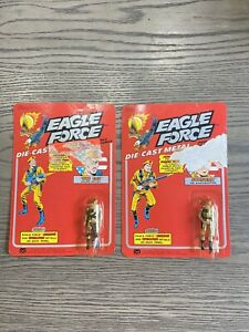 Vintage Mego Eagle Force Stryker The Cat Packages Die Cast NIP rare Action Toy