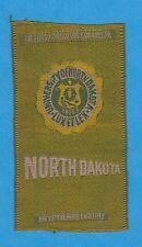 1910s S25 tobacco / cigarette / college silk University Of North Dakota - Nice!