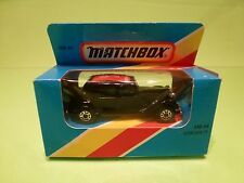 MATCHBOX MB44 CITROEN 15 TRACTION AVANT - 75 YEAR 1919-1994 - NMIB limited ed.