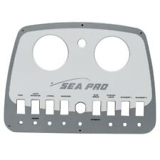 Sea Pro Two Tone Gray Boat Gauge & Switch Dash Panel