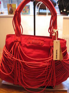 New Diesel Fun Quirky On a String Chordy Red Bag