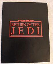 Star Wars Return of the Jedi Press Kit Folder - Vintage 1983 Original Rare