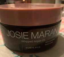 JOSIE MARAN  Whipped Argan Oil Ultra Hydrating Body Butter 8oz UNSCENTED
