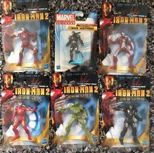"Marvel Iron Man 2 3"" Lot Of 5 And Bonus 2.5"" War Machine Figure - 6 In Total"