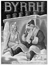 *** BYRRH _ Ange et Père Noël *** 1934 - pub. (24,5 x 33) // p247
