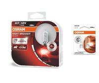 H7 12V 55W Night Breaker Silver bis 100% 2St OSRAM + W5W Original OSRAM