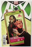A+X #5 Comic Variant Cover by Del Mundo Marvel Now Avengers X-Men A Plus X