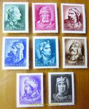 EBS Slovakia 1944 - 5 Years Independence - Slovak Princes - Michel 134-141 MH*