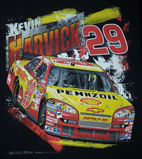 Kevin Harvick XL T Shirt New Chevy Implala SS Pennzoil Unworn Black NASCAR