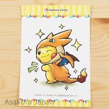 Pokemon Center Mega Tokyo Mega Charizard Y Pikachu Postcard #4 Not sold in store