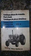 Ebro 470 Parts Catalog, OEM, Good Condition