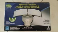 Home Zone Motion Activated LED Security Light Adjustable Twin Head Light NIB