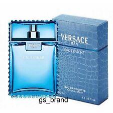 Versace Man Eau Fraiche edt Eau de Toilette 3.4/100 ml Men ITALY NEW!!! SALE!!!