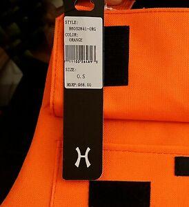 Hudson Outerwear Safety Vest Black Orange One Size