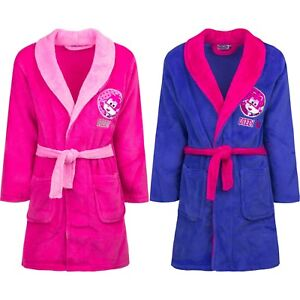 Girl Bathrobe Dressing Gown Super Wings Cuddly Soft 98 104 110 116 #600
