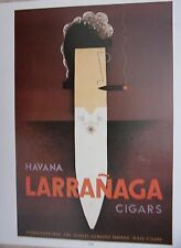 TIRAGE 20ème D'APRES DESSIN DE CARLU AFFICHE PUBLICITE CIGARE HAVANA LARRANAGA