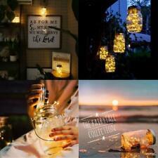 Lumière de Jardin Solaire Lanterne Solaire Led Lampe de Pot Maison extérieur jar