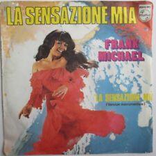 """FRANK MICHAEL - RARE SP FRANCE """"LA SENSAZIONE MIA"""""""
