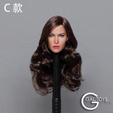 1/6 Megan Fox Head Sculpt w/Long Hair Fit 12'' Female Body GACTOYS GC029C