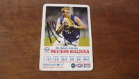 ADAM COONEY HAND SIGNED 2009 WESTERN BULLDOGS FC AFL CARD