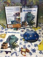 Monsters, Inc. — Cleaned/Tested! Fast Free Shipping! (PlayStation 2, ps2, 2002)