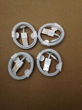 4 X Original Charger For Apple iPhone USB Lightning Cable OEM 7 X 8 6 5