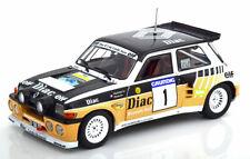 Renault 5 Maxi Turbo #1 Rallye du Var 1986 Chatriot Perin Solido S1804705 1/18
