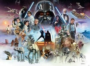 Buffalo Games Star Wars The Force is with You, Young Skywalker 1000 Piece Puzzle