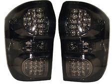LED Back Rear Tail Lights Lamps Indicators Set Smoked Black Toyota Rav4 2000-06