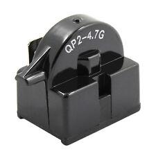 QP2-4.7 Start Relay Refrigerator PTC FOR 4.7 Ohm 1 Pin Vissani Danby Compressor