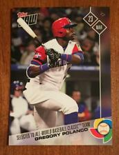2017 Topps NOW #W-60 GREGORY POLANCO - Team DR - All WBC team - ONLY 259 made